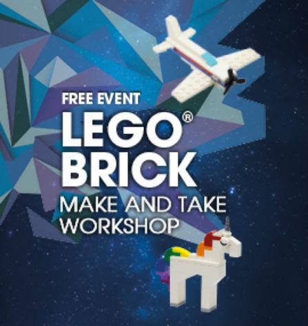 Lego Brick Make and Take Workshop