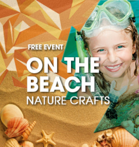 On The Beach Nature Crafts