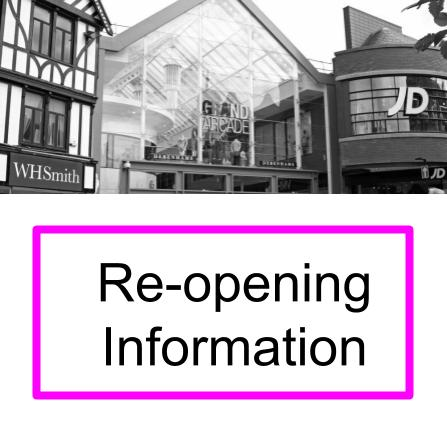 Re-opening Info